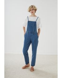 MiH Jeans | Blue Lindvall Dungarees | Lyst