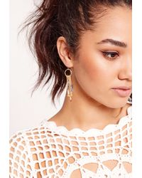 Missguided - Metallic Multi Pack Boho Earring Set - Lyst