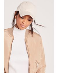 Missguided | Multicolor Faux Suede Baseball Cap Nude for Men | Lyst