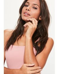 Missguided - Multicolor Rose Gold 4 Pack Ring Set - Lyst