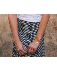 Missoma - Metallic Lucy Williams X Octagon Coin Bracelet - Lyst