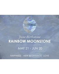 Missoma - Metallic Silver June Rainbow Moonstone Charm - Lyst