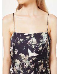 Miss Selfridge - Multicolor Premium Printed Cami Slip Dress - Lyst