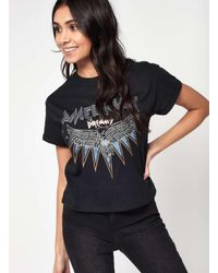 Miss Selfridge | Black American Dream T-shirt | Lyst