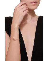 Anabela Chan - Pink M'o Exclusive Rose Butterfly Charm Bracelet - Lyst
