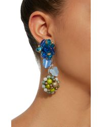 Lulu Frost | Blue M'o Exclusive Vintage Japanese Beaded Earrings | Lyst