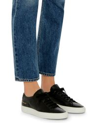 Common Projects - Black Achilles Lace-up Sneakers - Lyst