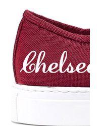 Del Toro - Red Burgundy Sardegna Sneaker - Lyst