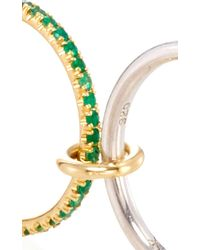 Spinelli Kilcollin - Multicolor 18k Yellow Gold Atlas Vert Five Linked Ring - Lyst