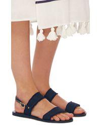 Ancient Greek Sandals - Blue Clio Gladiator Sandals - Lyst