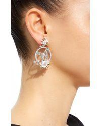Anabela Chan - Metallic M'o Exclusive: Diamond Butterfly Wreath Earrings - Lyst