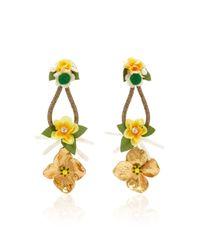 Ranjana Khan - Yellow Glow Earrings - Lyst