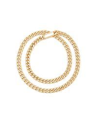 Sidney Garber - Metallic 18k Yellow Gold Id Necklace - Lyst