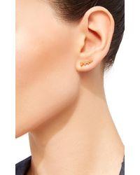 Noor Fares - Metallic Geometry 101 Five Cone Stud Earrings - Lyst