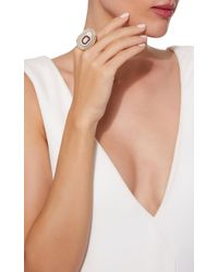 Kimberly Mcdonald - Metallic One-of-a-kind Agate Ring With Diamonds Set In 18k Yellow Gold - Lyst