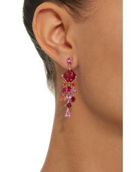 Anabela Chan - Pink M'o Exclusive Ruby Escher Drop Earrings - Lyst