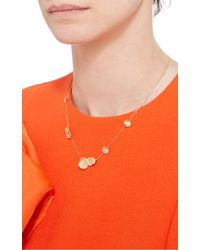 Jordan Askill - Metallic Leaf Necklace - Lyst
