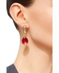 Sanjay Kasliwal - Pink Raj Polki Earrings - Lyst