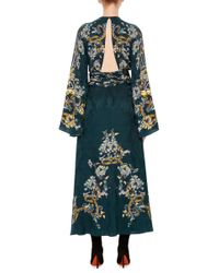 Roberto Cavalli | Blue Sequin Dress | Lyst