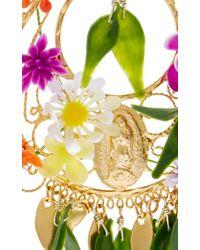 Mercedes Salazar | Multicolor Fiesta Flower Earrings | Lyst