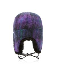 Eugenia Kim - Purple Sammy Trapper Hat - Lyst