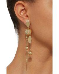 Sarah Magid Jewelry - Metallic Gold-plated Swarovski Crystal Drop Earrings - Lyst