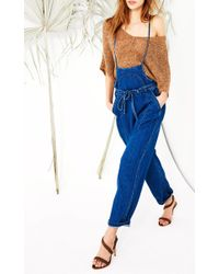 Ulla Johnson - Blue Nadia Denim Overalls - Lyst