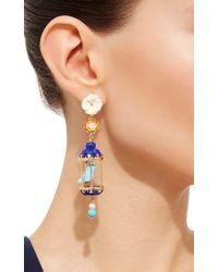 Of Rare Origin | Blue Turquoise Aviary Classic Earring | Lyst