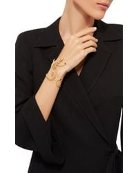 Wendy Yue - Metallic Golden Diamond Cuff - Lyst