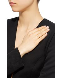 Octavia Elizabeth - Metallic 18k Gold Diamond Ring - Lyst