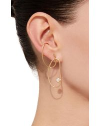 Ana Khouri - Metallic Single Grace Earring - Lyst