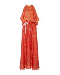 Alexis - Angia Red Floral Maxi Dress - Lyst