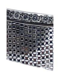 Jack Vartanian - Metallic Love Ny Diamond Fringe Earrings In White Gold With Diamonds - Lyst