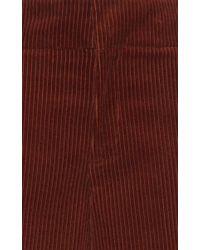 Marni - Multicolor Wide Leg Corduroy Trouser - Lyst