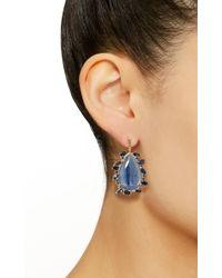 Eden Presley - Blue Kyanite Earrings - Lyst