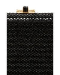 Judith Leiber Couture - Black Embellished Rectangle Clutch - Lyst