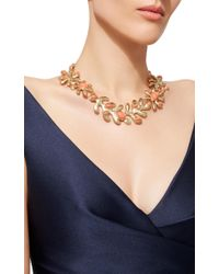 Oscar de la Renta - Red Coral Sea Tangle Necklace - Lyst