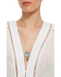 Annette Ferdinandsen - Metallic 18k Gold Topaz Bird Necklace - Lyst
