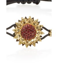 Pippo Perez - Metallic Sapphire Sunflower Bracelet - Lyst