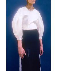 Rejina Pyo - White The Maddie Puff Sleeve Blouse - Lyst