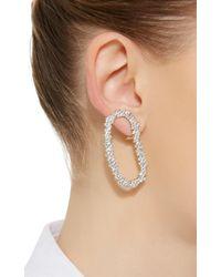 Ana Khouri - Metallic 18k White Gold Diamond Mia Earrings - Lyst