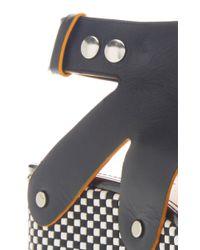Proenza Schouler | Black Leather Platform Sandals | Lyst