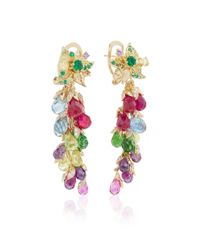 Anabela Chan - Multicolor Rainbow Coralbell Earrings - Lyst