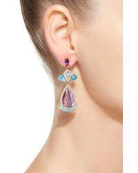 Eden Presley - Multicolor 14k Gold Multi-stone Earrings - Lyst