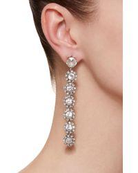Lulu Frost - Metallic Beam Crystal Drop Earrings - Lyst