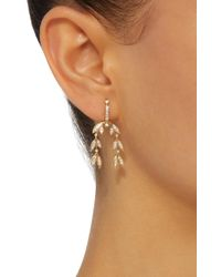 Yvonne Léon - Metallic 18k Gold Diamond Earrings - Lyst