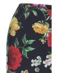 Dolce & Gabbana Multicolor Floral Bra Bikini Top