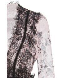 Giambattista Valli | Multicolor Floral Printed Midi Dress | Lyst