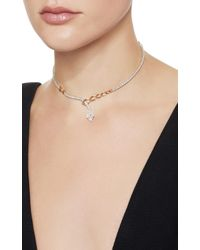 YEPREM - White Chevalier Collection Wrap Necklace - Lyst