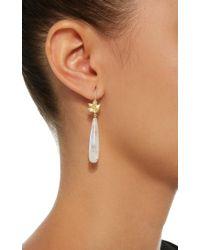 Jamie Wolf - White 18k Gold, Rainbow Moonstone And Diamond Earrings - Lyst